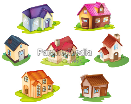 various houses