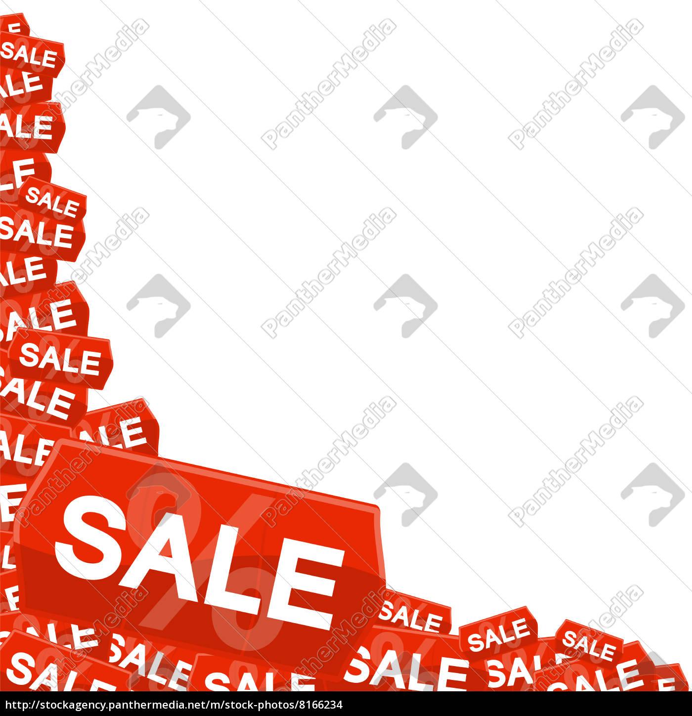 Sale Auf Preisschild Stockfoto 8166234 Bildagentur Panthermedia