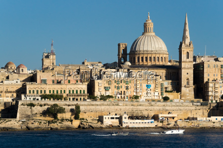 view over valletta