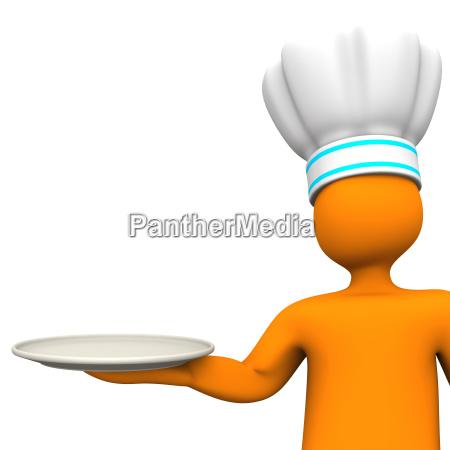 empty plate
