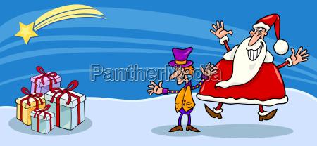 urlaub urlaubszeit ferien illustration weihnachtszeit christmas