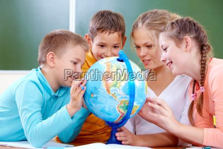 studieren, heraus, planeten - 8200841