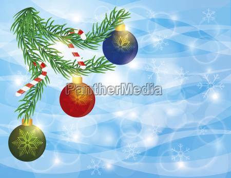 baum kiefer spazierstock bonbon festlich weihnachtszeit