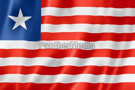 liberianische flagge