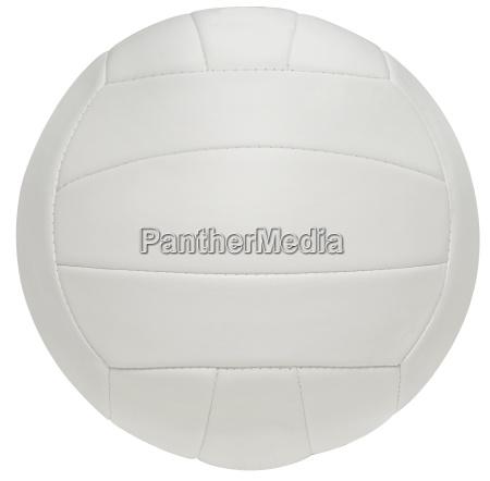 volleyball dicht an