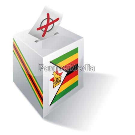 wahlbox simbabwe