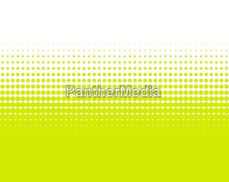 hintergund gruen gelbe punkte verlauf