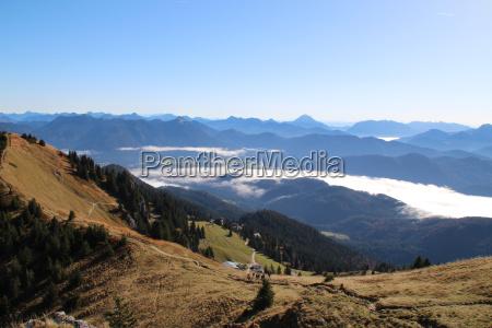 mountains bavaria background of mountains fall