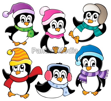 cute penguins collection 3