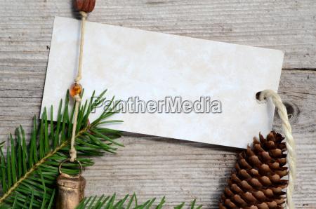 weihnachten karte holz stern gutschein