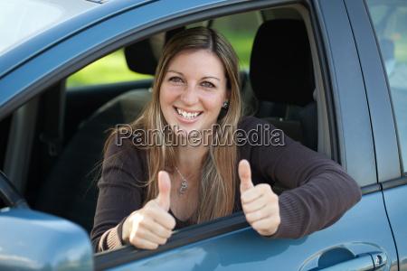 successful car driver