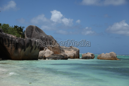 La Digue, Seychellen, Afrika, Urlaub, Ozean, Steine - 8316797