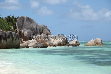 relaxation africa seychelles granite firmament sky