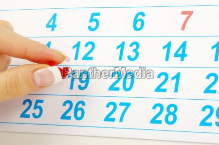 kalender konzept