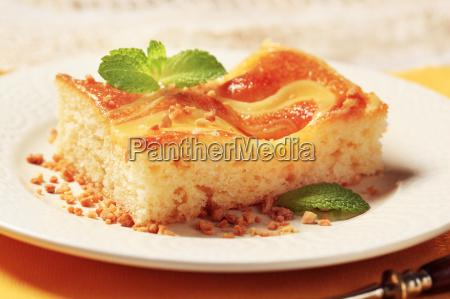 custard creme schwamm kuchen