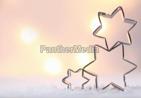atmosphaerischer weihnachtssternhintergrund