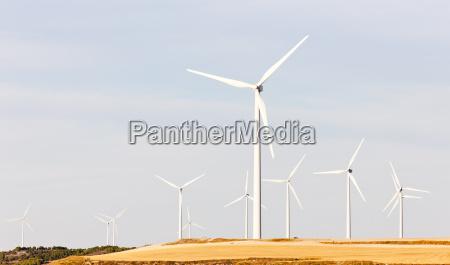 windkraftanlagen kastilien und leon spanien