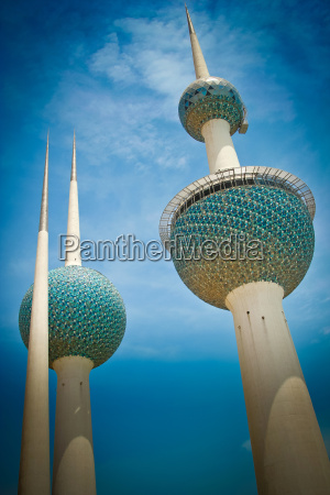 kuwait towers city of kuwait