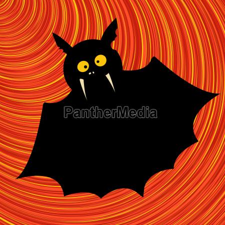 funny bat graphic
