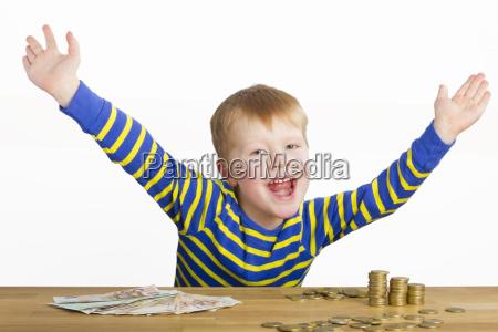 euro save cent pocket money child