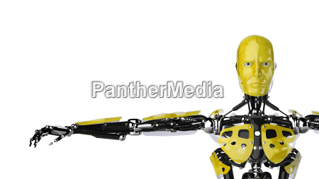 roboter gelb