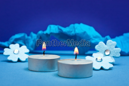 blue background for festive occasions