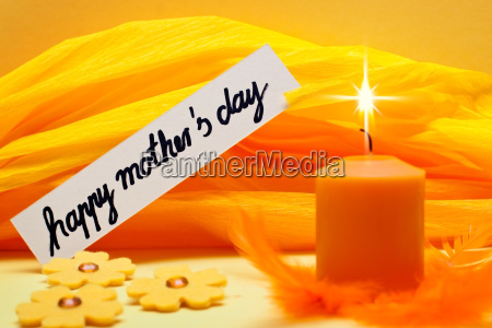 yellow festive background for mothers day