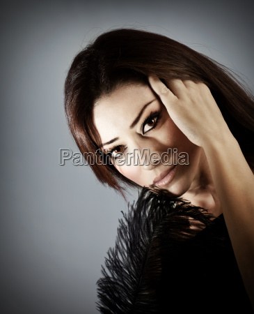 schoene zauber weibliches portrait