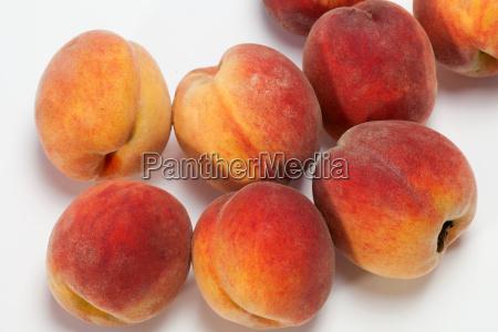 frucht obst frisch pfirsiche