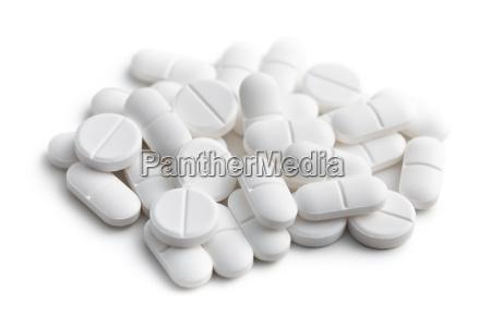 weissen pillen