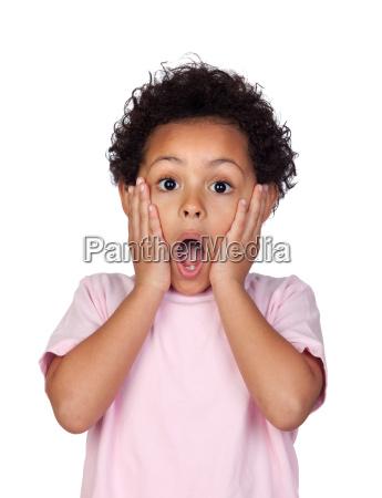 UEberraschenes lateinisches kind