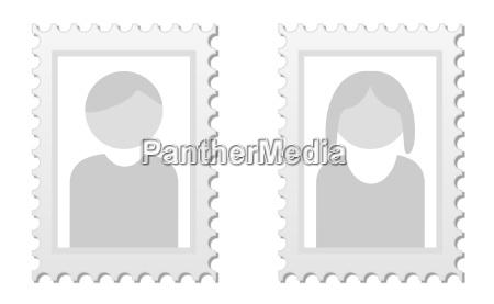 zwei bilder als platzhalter fuer profilbilder