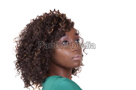 attraktive junge afroamerikanische frau 34 portrait