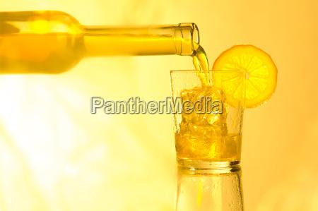 drink in summer light