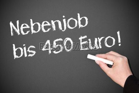 part time job to 450 euros