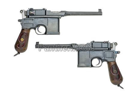 deutsche pistole modell 18961912 mauser