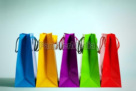 einkaufstueten in fashion licht