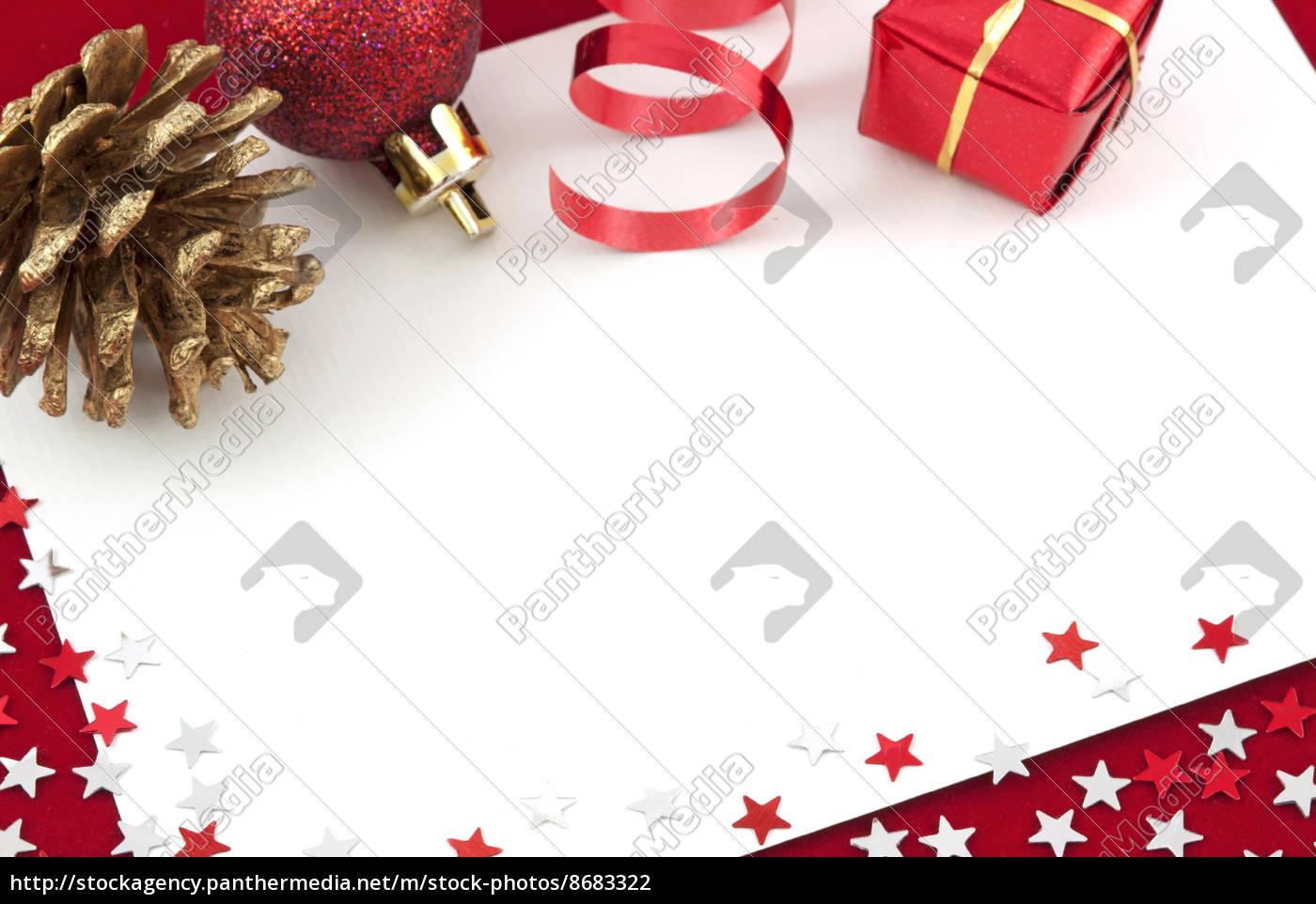 Weihnachtskarte Farbreich
