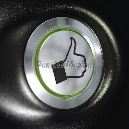 quality service thumbs up symbol automotive