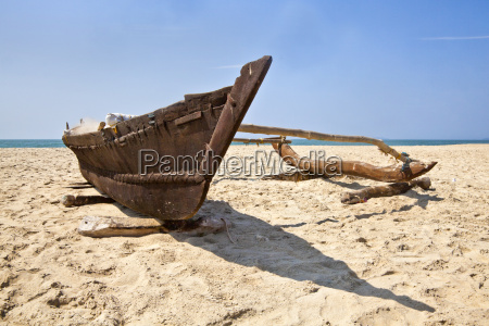 low angle view of goan fishermans