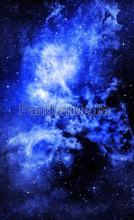 sternen tiefen weltraum nebual und galaxie