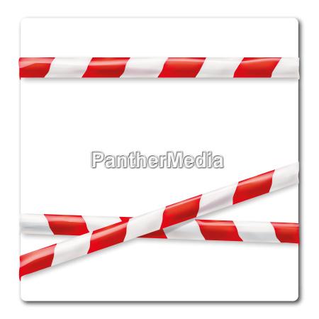 streamer red white