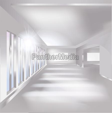 raum halle galerie ausstellung und innenraum