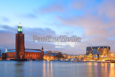 stockholm city hall sweden