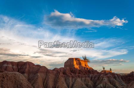 view of desert mesa and golden