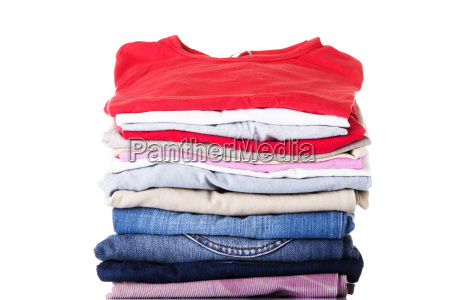 stack of clothing