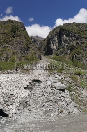 zillertaler berge OEsterreich