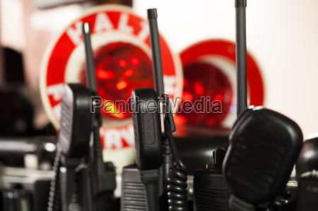 feuerwehr funkgeraete fuer den einsatz
