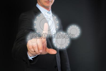 spettacolo mano uomo daffari businessman indice