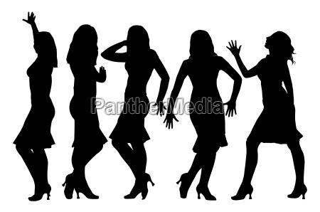 beautiful girls posing